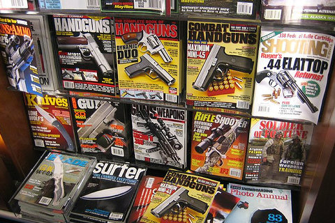 Is The Death Knell of the Print Gun Magazine Tolling?