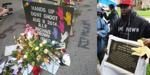 Where a gang affiliated felon killed while feloniously assaulting cops gets a permanent memorial