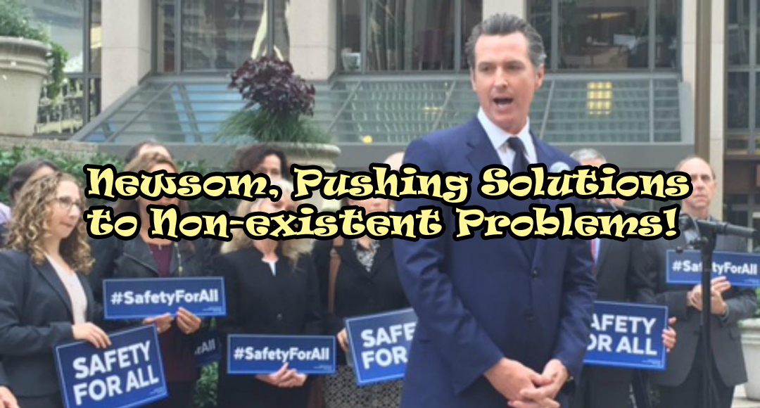 Dear Lt. Gov. Newsom, Please Leave Crime Prevention to the Pros