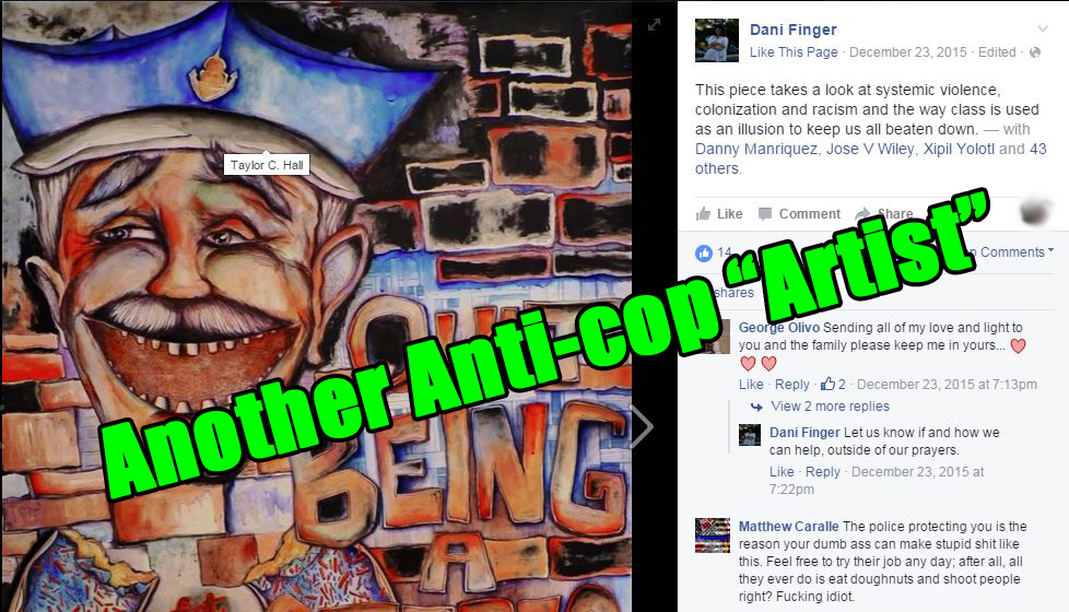 """Another Anti-cop """"Artist"""""""