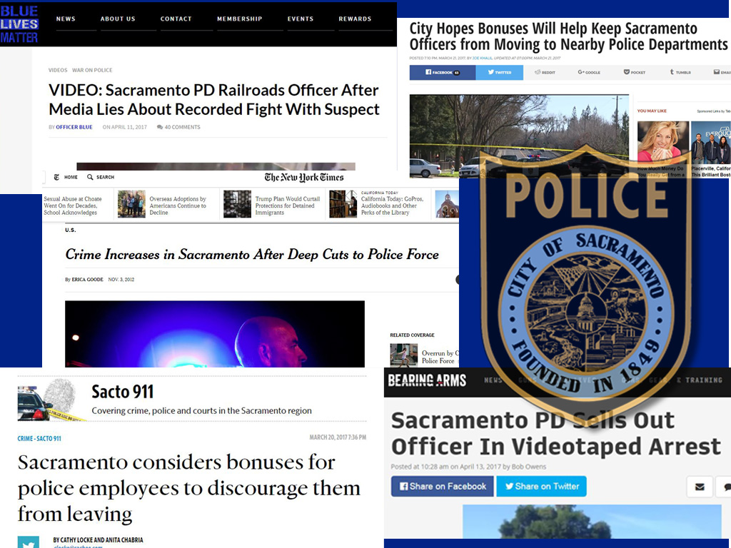 Sacramento PD: How NOT to Run A Police Department